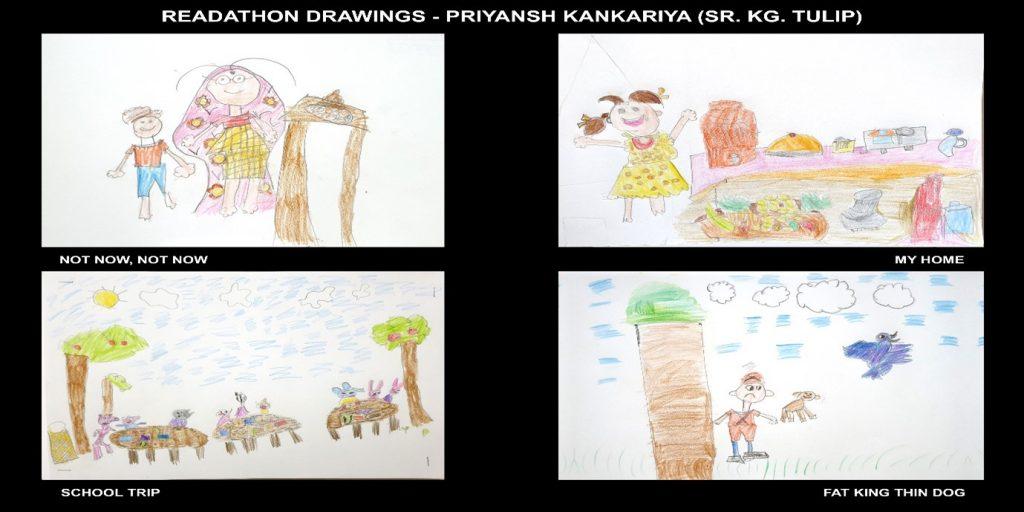 Priyansh Kankariya- Sr. KG Tulip class